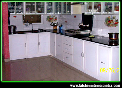 Modular kitchen interiors manufacturer in punjab aluminium kitchen