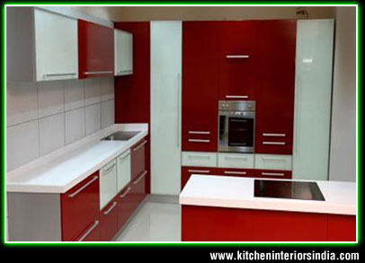 Modular kitchen interiors manufacturer in punjab for Modular kitchen designs pictures india apartments