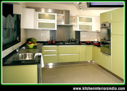 High Quality Modular Kitchen Interiors Manufacturer In Punjab