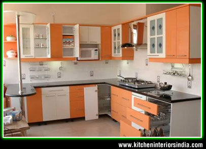 Modular Kitchen Interiors Manufacturer In Punjab Aluminium Kitchen Ludhiana Wooden Kitchen