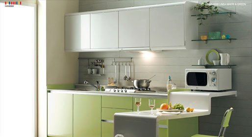 aluminium kitchen interiors